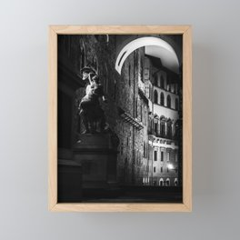 The Rape of Polyxena. Framed Mini Art Print