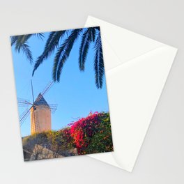 Tropical Windmill Stationery Cards