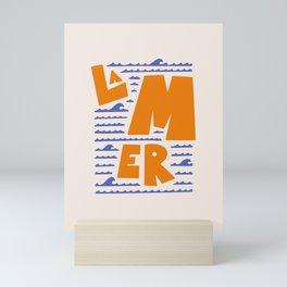 La Mer French Sea Mini Art Print