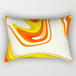 Abstract Fluid 18 Rectangular Pillow