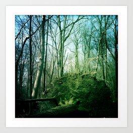 earth tree. Art Print