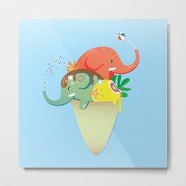summer cone Metal Print