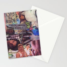 Fucktop Collage Stationery Cards