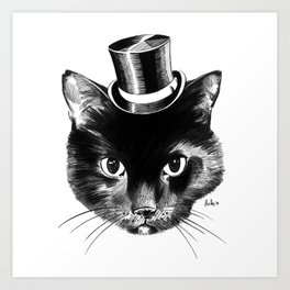 Cat Fancy Art Print