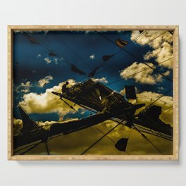 Sailor at Reefpoint High Contrast Photo Serving Tray