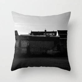 Behind the walls Throw Pillow