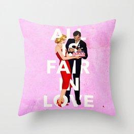 All Is Fair In Love Throw Pillow