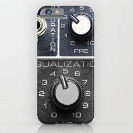 Vintage Sound Control Panel  iPhone Case