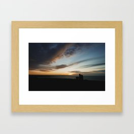 Wheal Cotes Sunset Framed Art Print