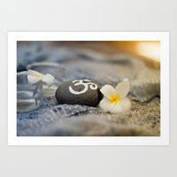 om Art Prints featuring om by tjasa