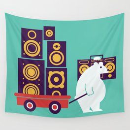 Ready to Jam Wall Tapestry