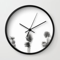 3 sisters black & white Wall Clock