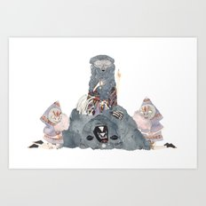 The Spirit Bear Art Print