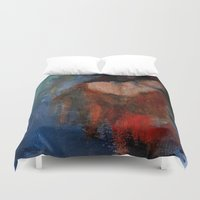 imagerybydianna Duvet Covers featuring changing seasons by Imagery by dianna