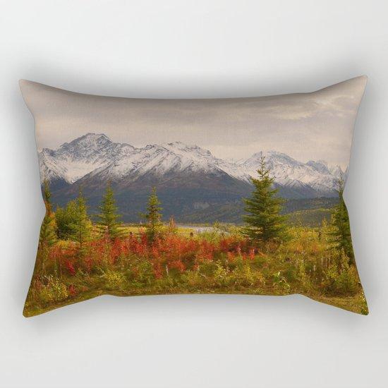 Seasons Turning Rectangular Pillow