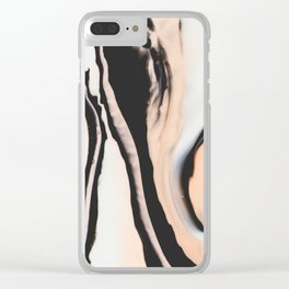 Orlande Marble I Clear iPhone Case