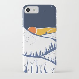 Mountain mysteries iPhone Case