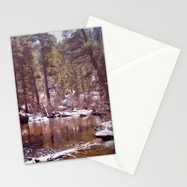 Winter is melting Stationery Cards