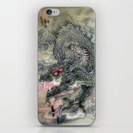 Candle Dragon iPhone Skin