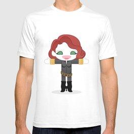 BLACK WIDOW ROBOTIC T-shirt