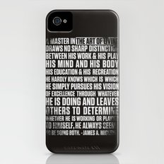 Always Be You-Black iPhone (4, 4s) Slim Case