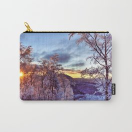 Icy Forest Awakens Carry-All Pouch