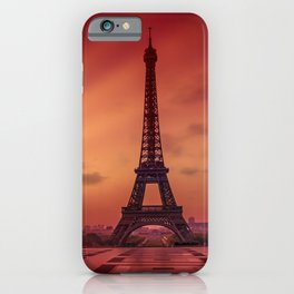 Eiffel Tower at Sunrise iPhone Case