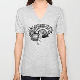 Brain 2 Unisex V-Neck