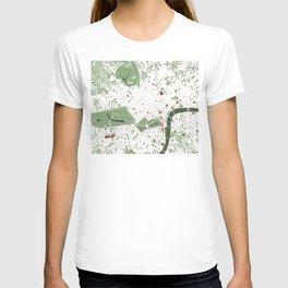 London city map minimal T-shirt