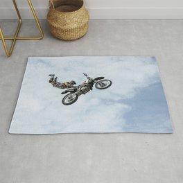 Motocross High Flying Jump Rug