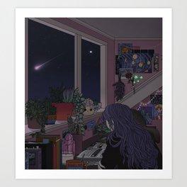 Quiet Night, Quiet Stars Art Print