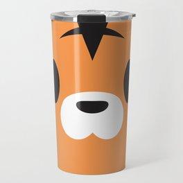 Tiger Block Travel Mug