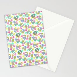 Game pattern Stationery Cards