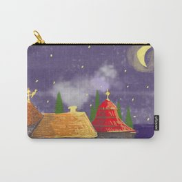 Houses at night Carry-All Pouch
