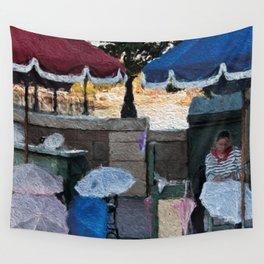 Umbrella Maker Wall Tapestry