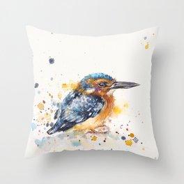 Kingfisher Lane Throw Pillow