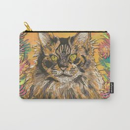 Honeysuckle Cat (Maine Coon Cat) Carry-All Pouch
