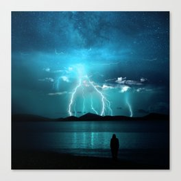 Storms Coming... Canvas Print