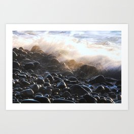 Oregon Splash Art Print