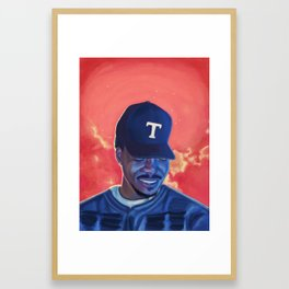 Chance The Rapper: Coloring Book Framed Art Print
