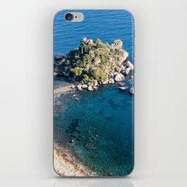 Beautiful island Taormina iPhone Skin