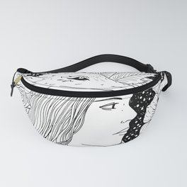wolf and the girl Fanny Pack