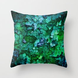 Underwater Wood 2 Throw Pillow