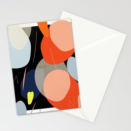 Stain pattern design Stationery Cards