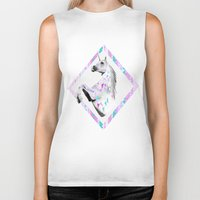 kris tate Biker Tanks featuring ▲TWIN SHADOW ▲by Vasare Nar and Kris Tate  by Kris Tate