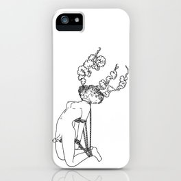 Esquizofrenia iPhone Case