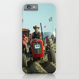 Raking Out iPhone Case