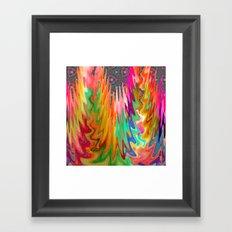 Scarlet Fire Framed Art Print