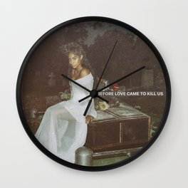 JESSIE REYEZ - BEFORE LOVE CAME TO KILL US Wall Clock