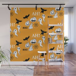 Pattern Halloween 1 Wall Mural